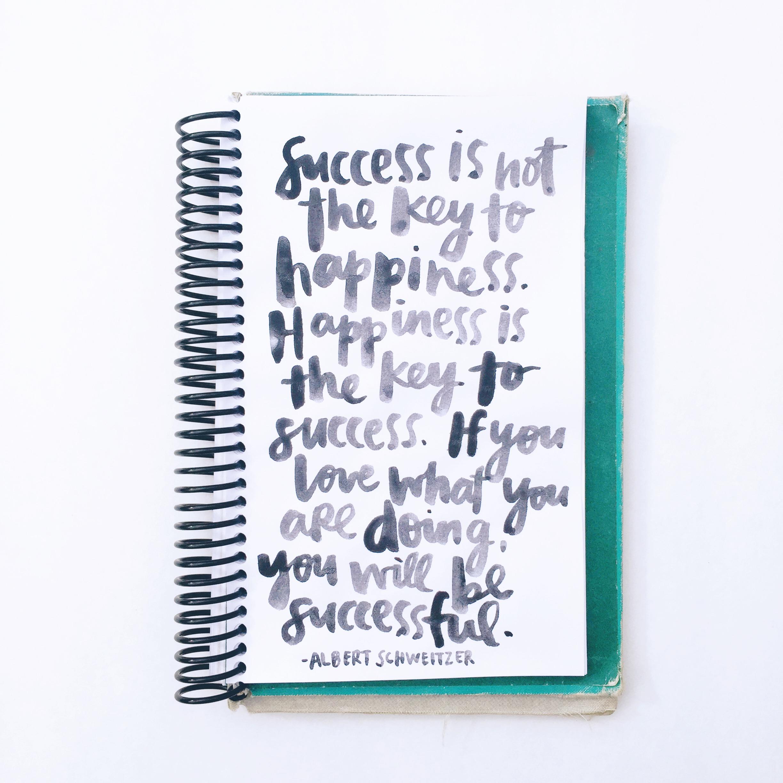 Success + Happiness