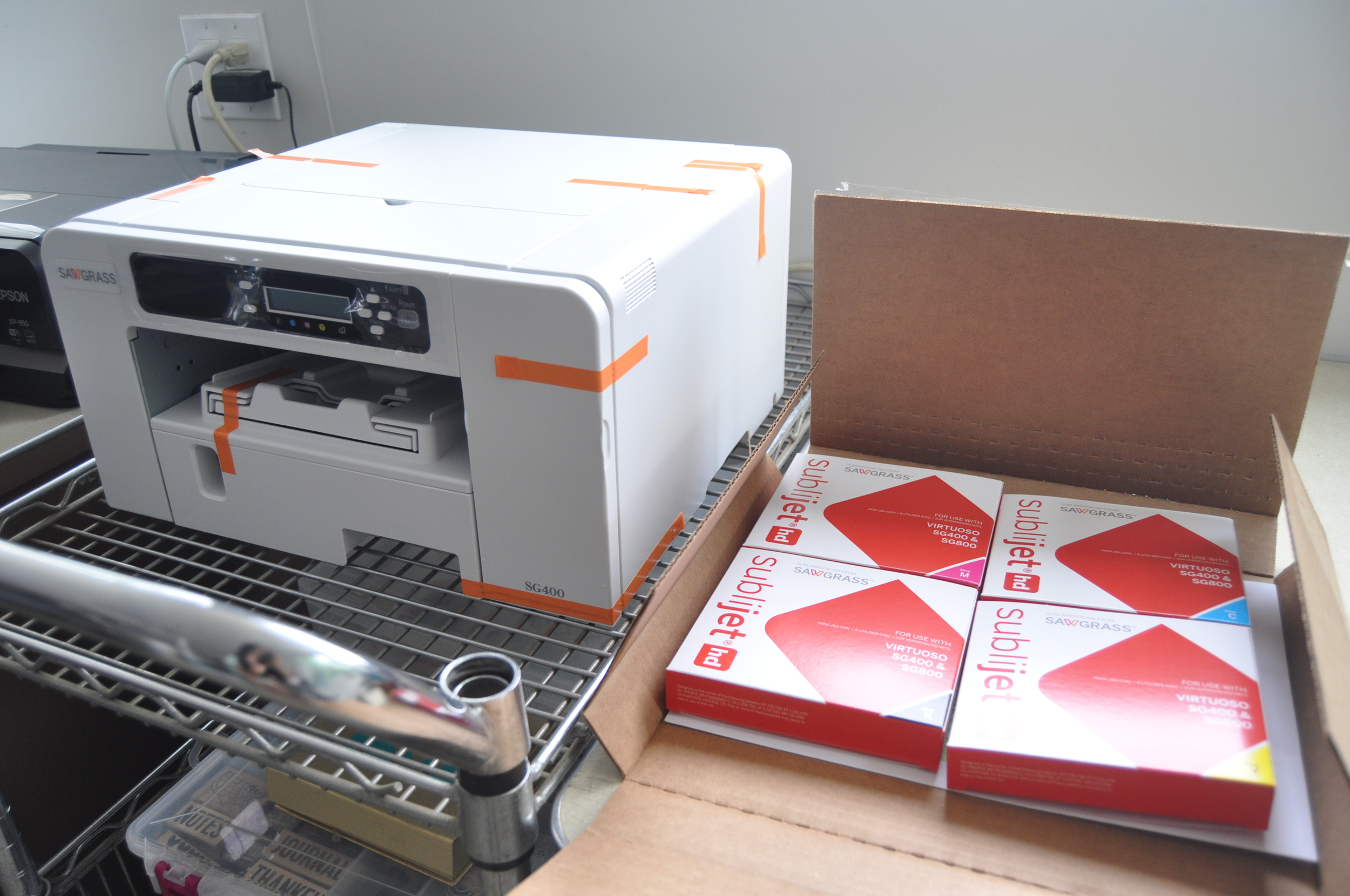 Amy Tangerine's Sublimation Printer