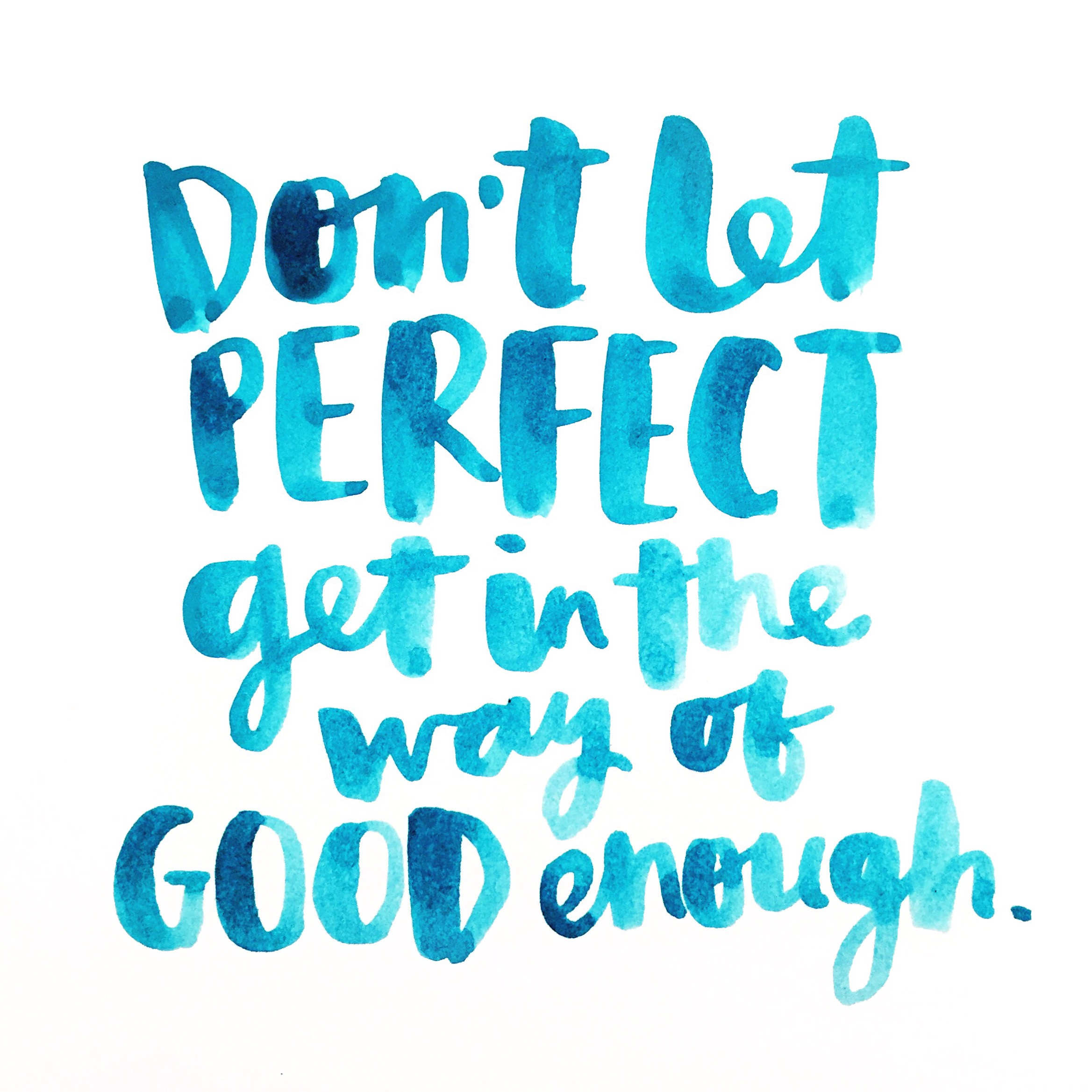 Fantastic brush script quote by Amy Tangerine