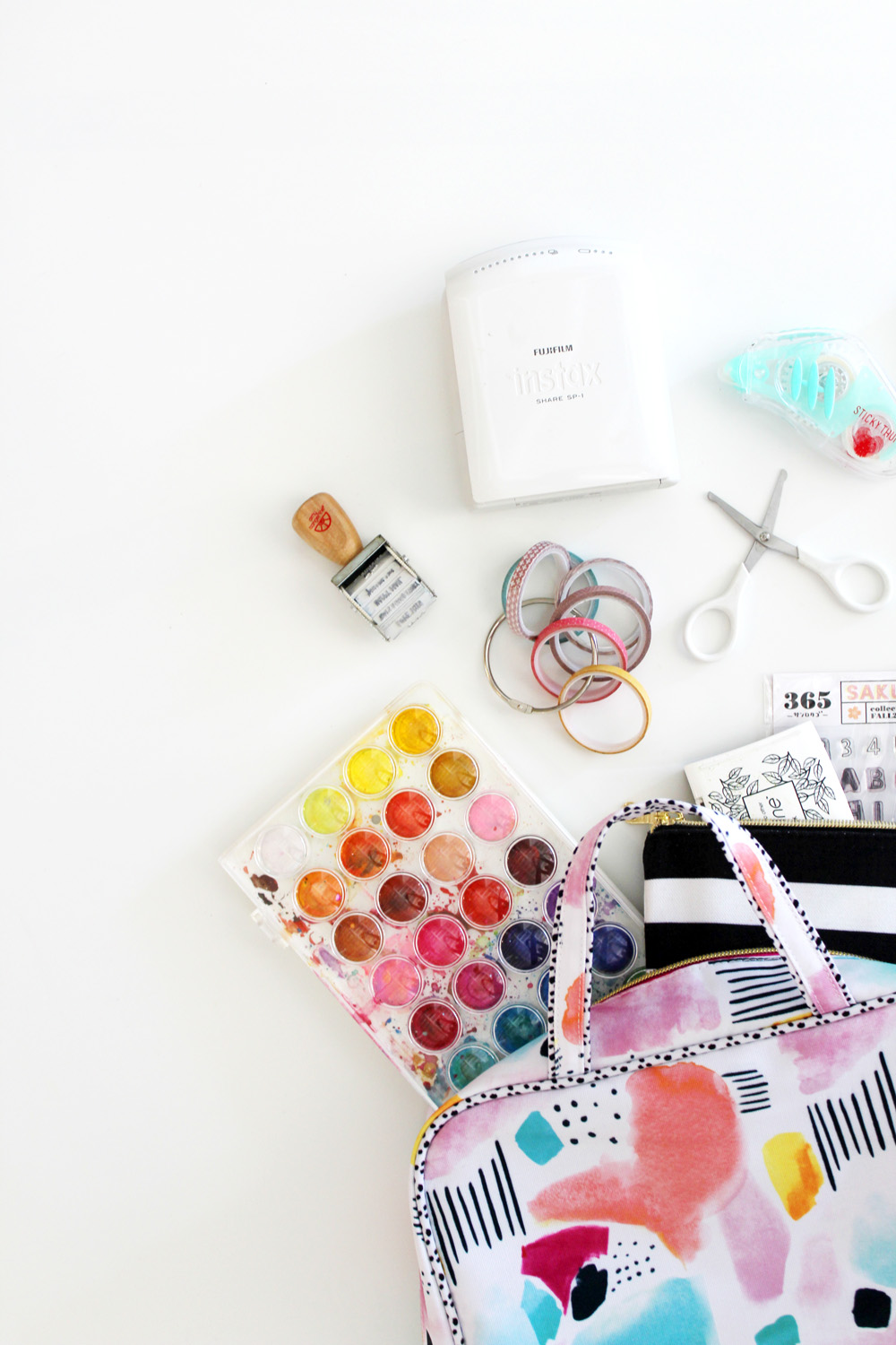 Crafty Travel Essentials | Amy Tangerine