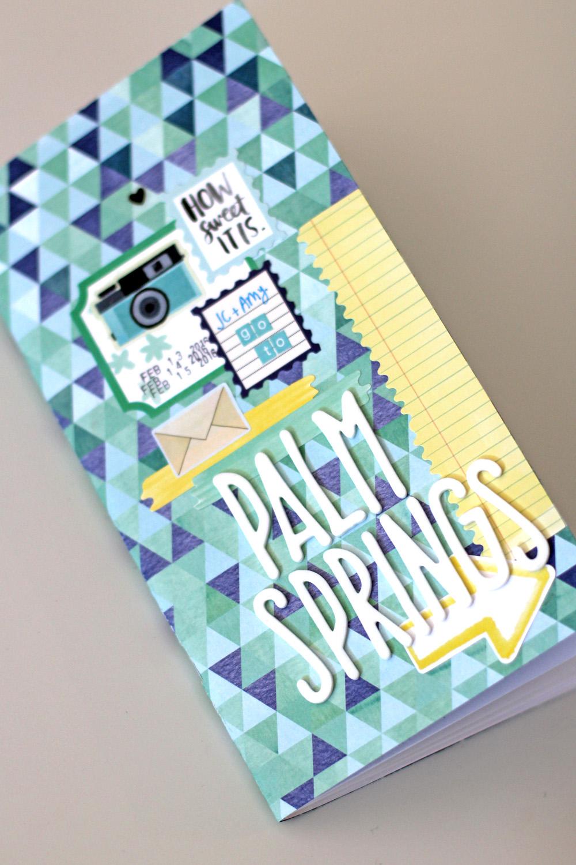 Palm Springs Traveler's Notebook | Amy Tangerine