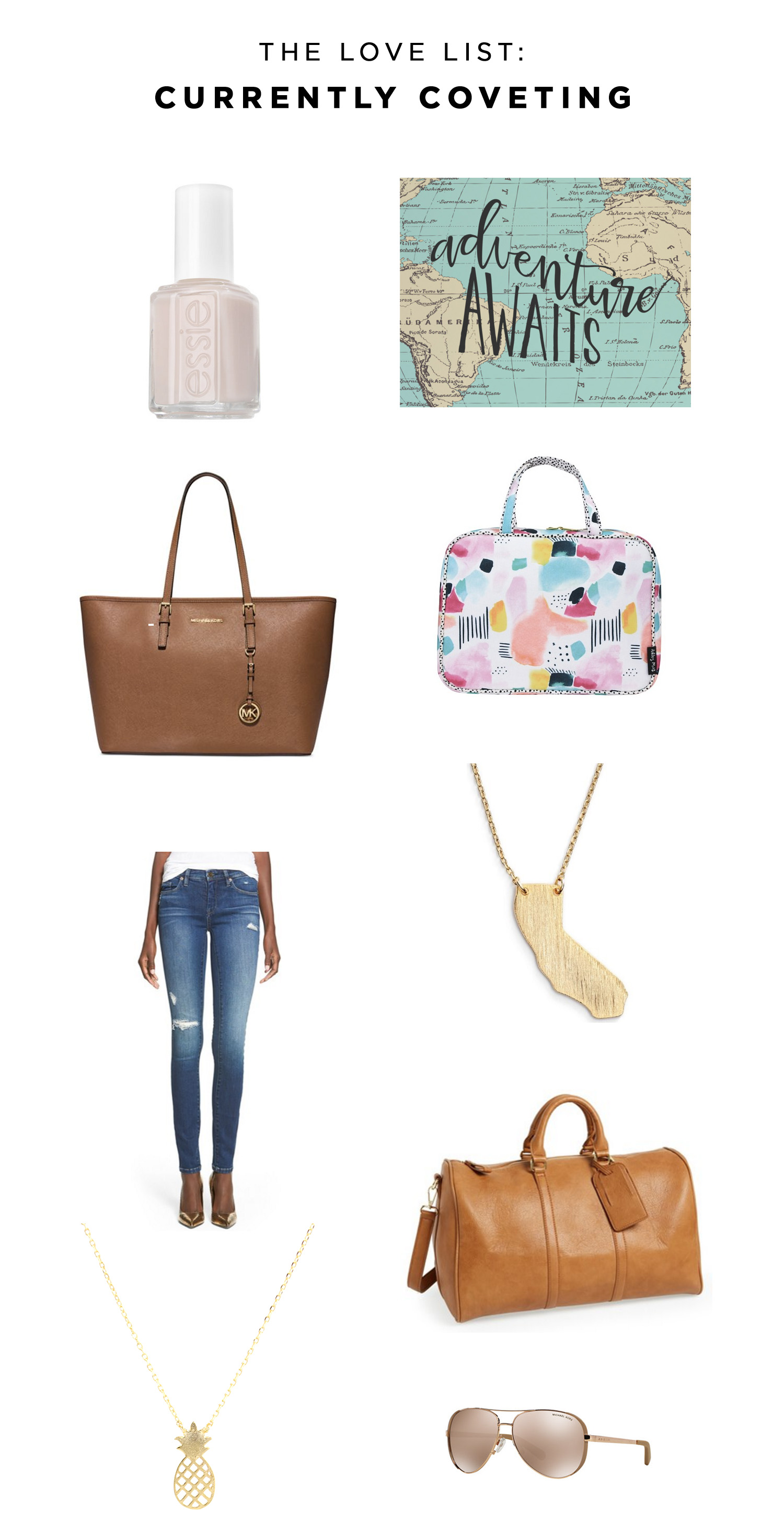 The Love List: Currently Coveting | Amy Tangerine