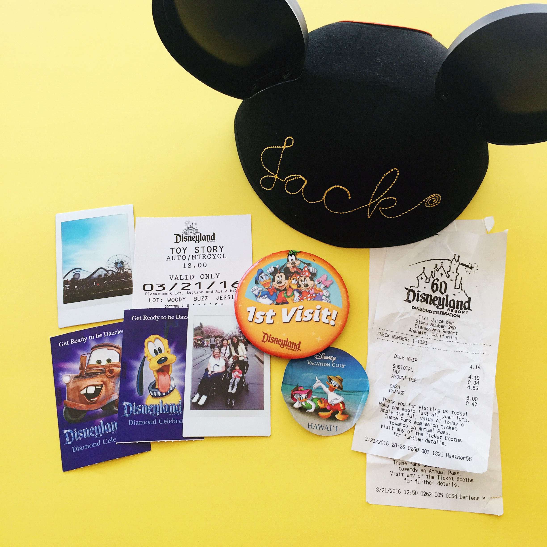 What to do with Disneyland memorabilia