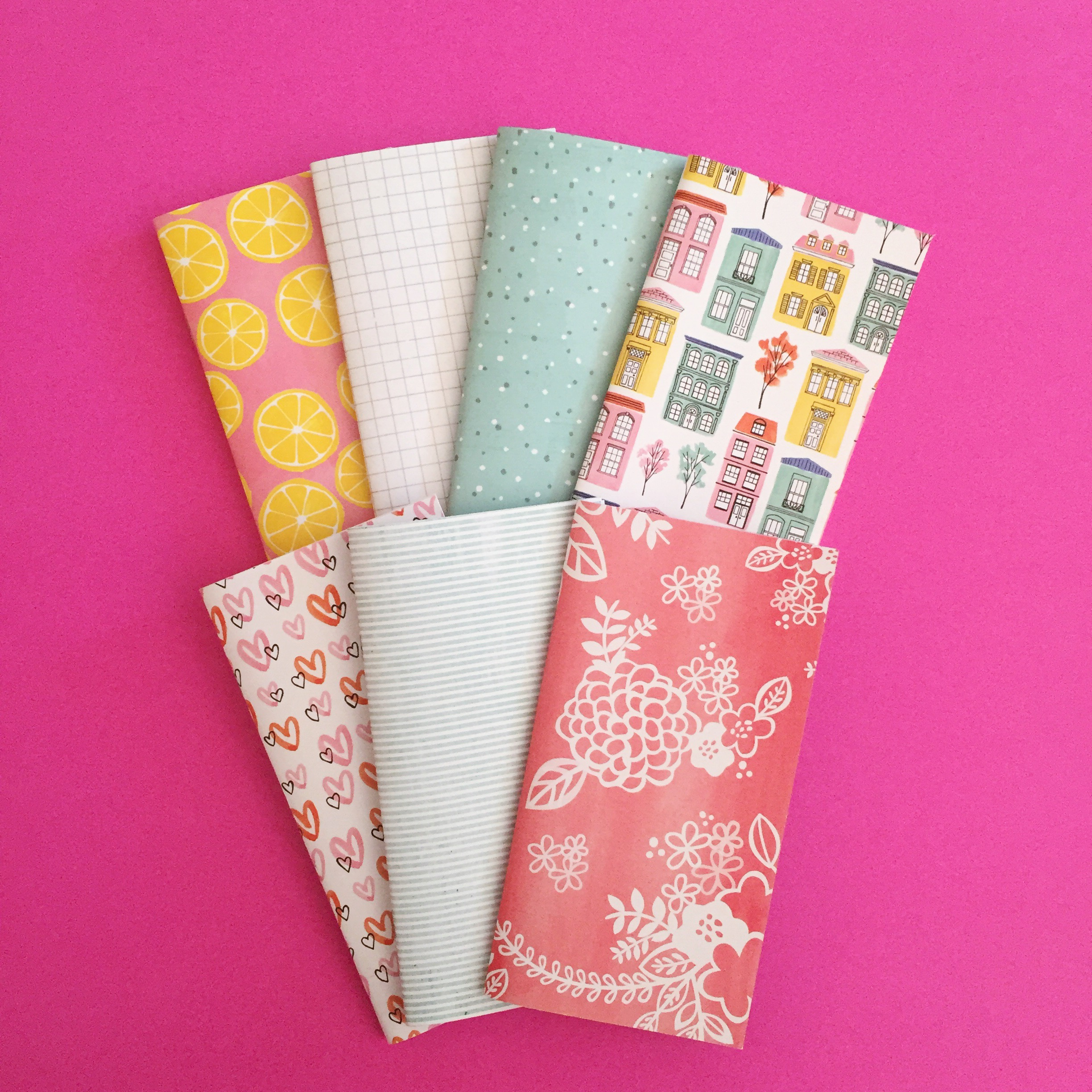 Colorful Traveler's Notebooks!