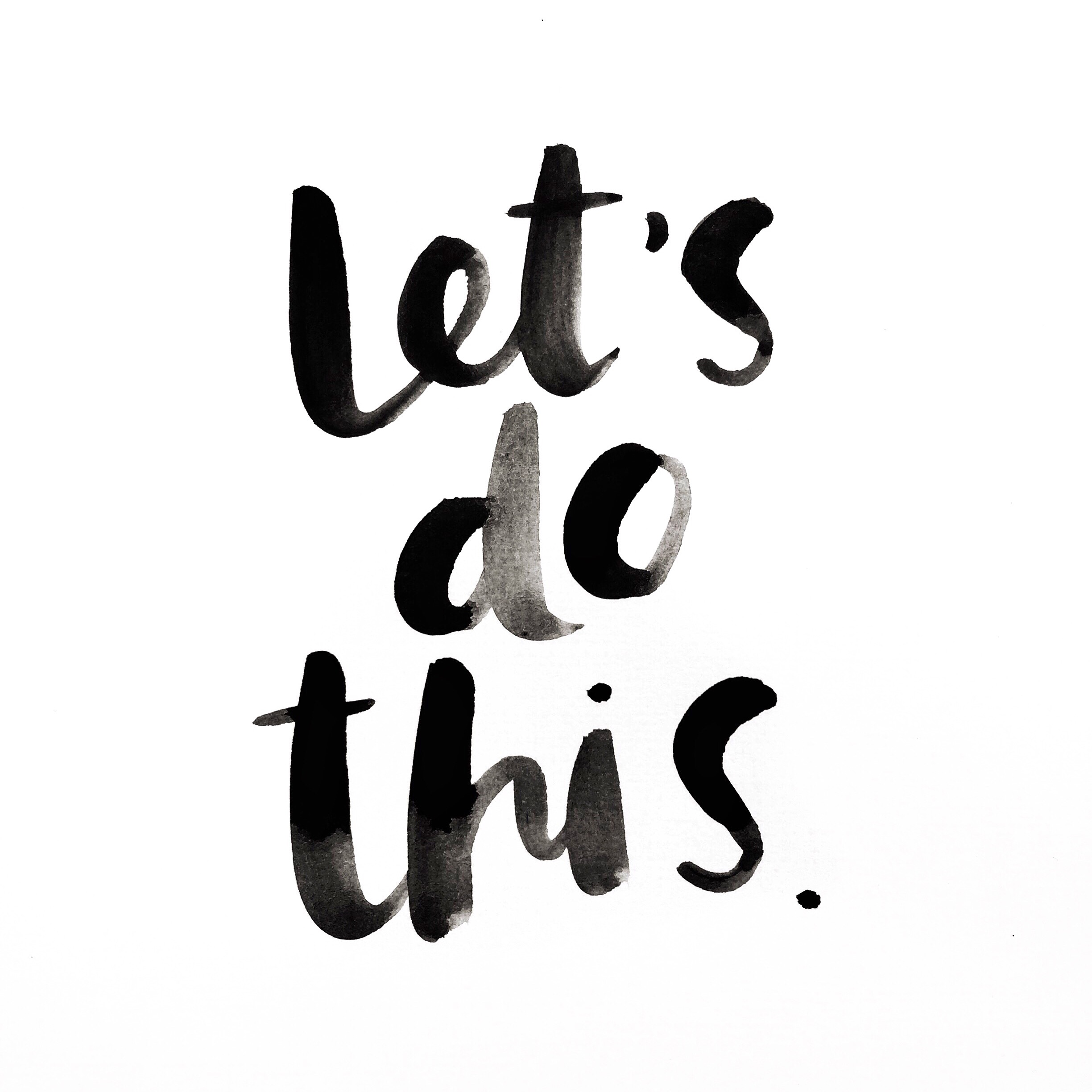 let's do this | Amy Tangerine