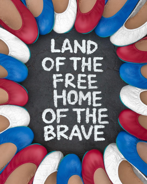 Tieks Land of the free by Amy Tangerine