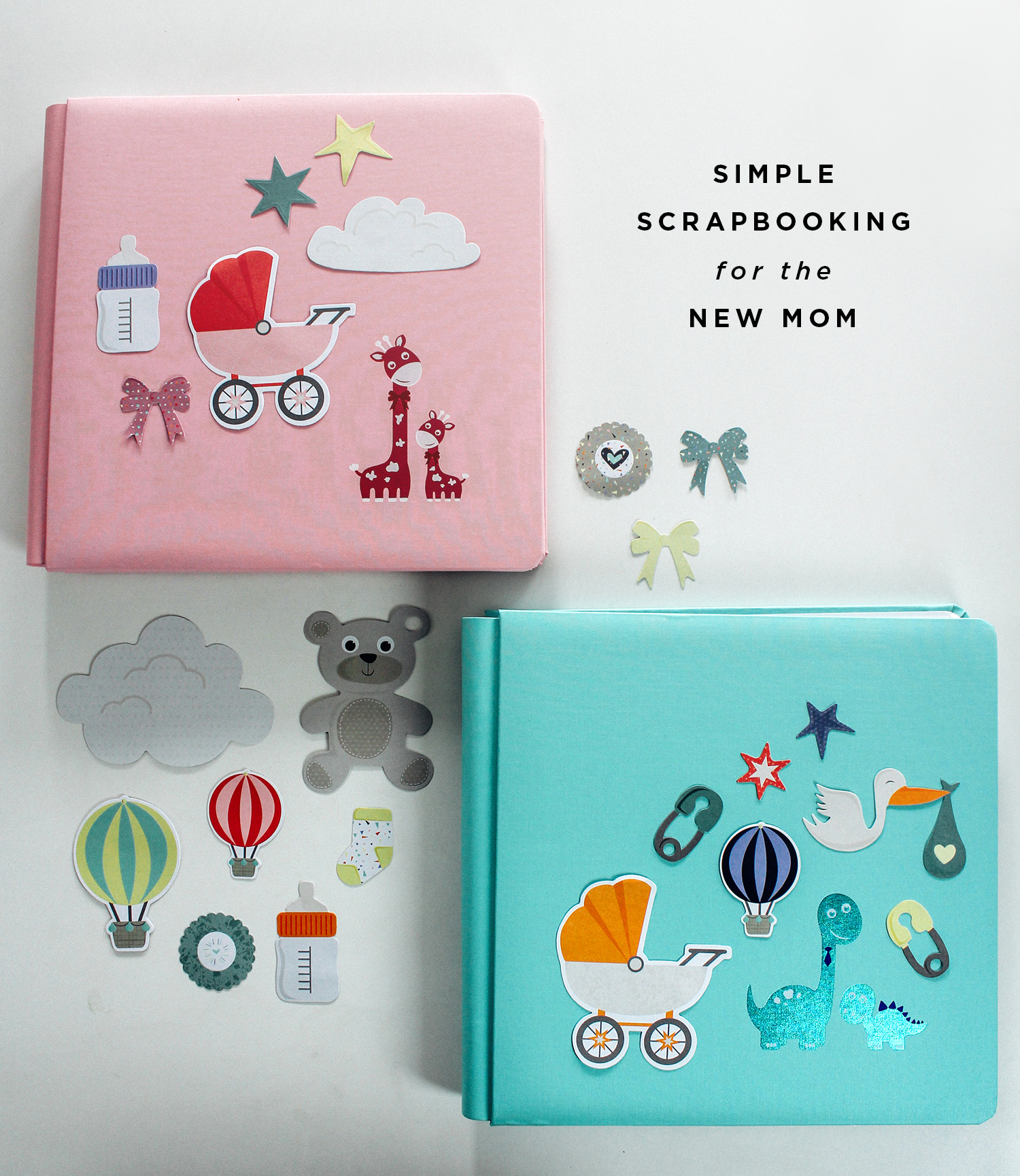 Simple Scrapbooking for the new mom