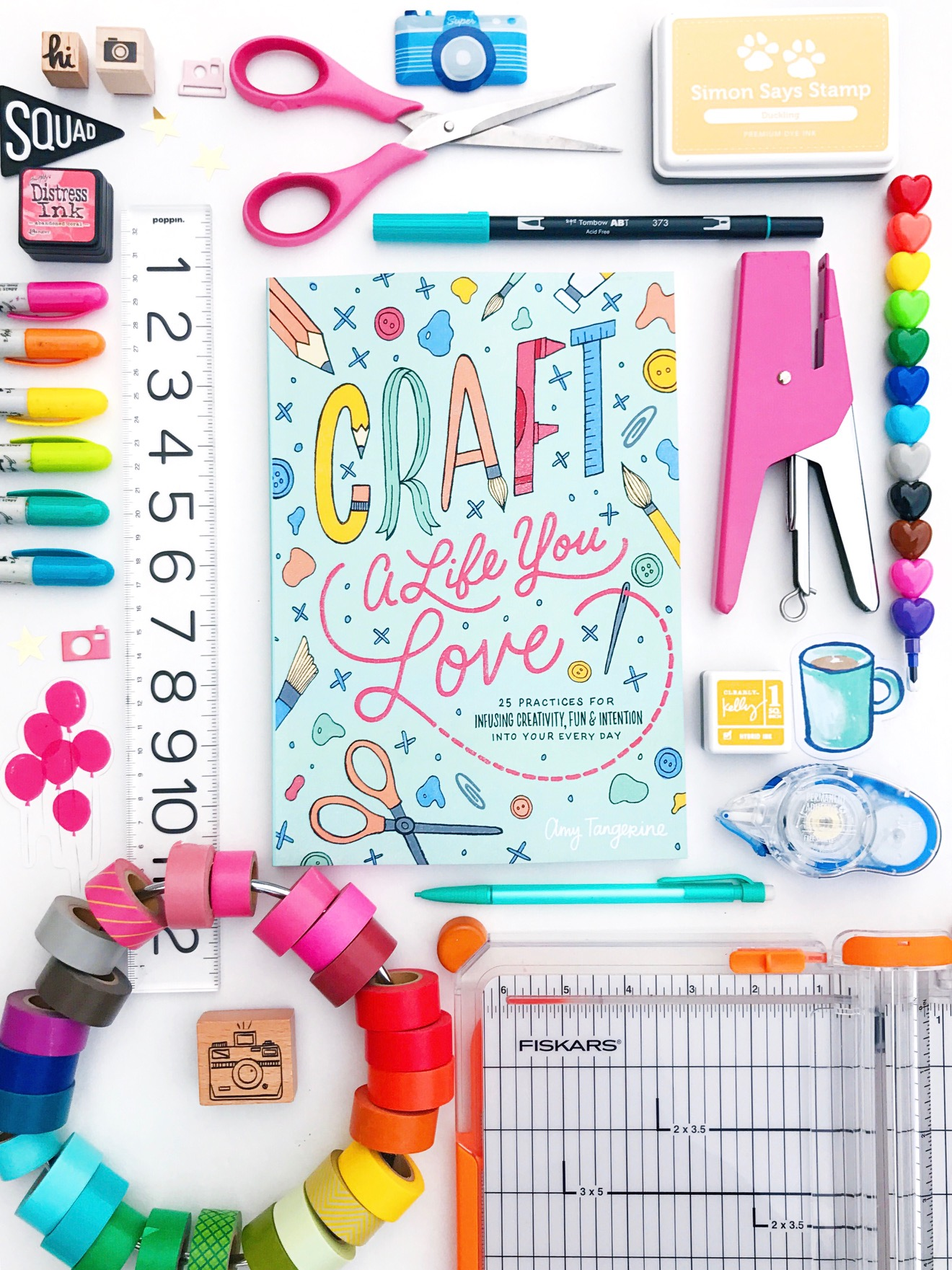 Craft A Life You Love by Amy Tangerine is now available!