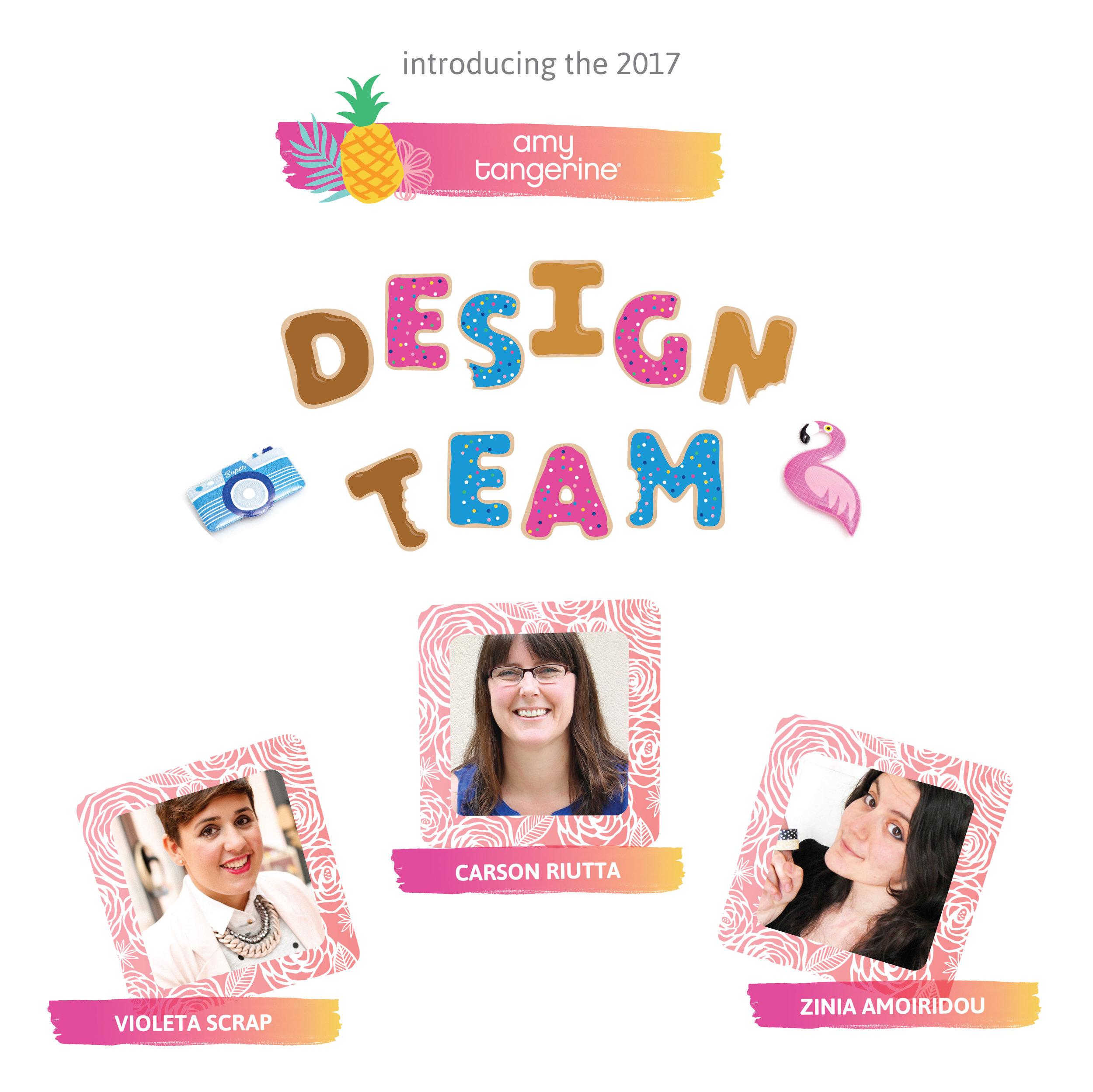 Amy Tangerine Design Team