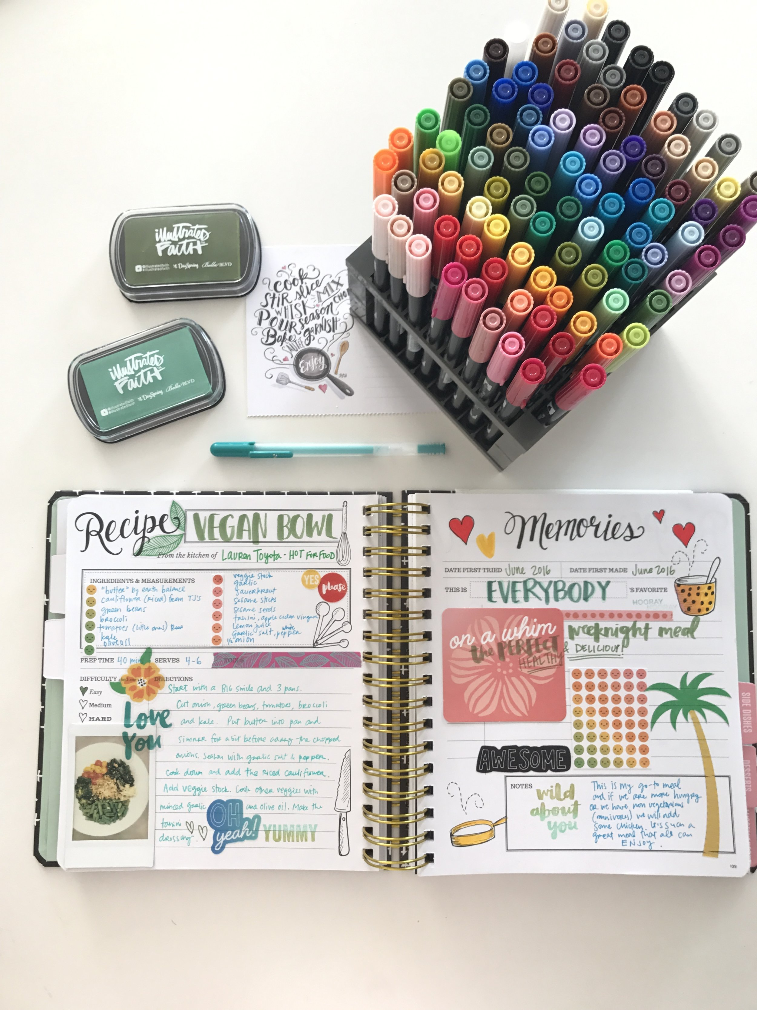 Keepsake Kitchen Diary
