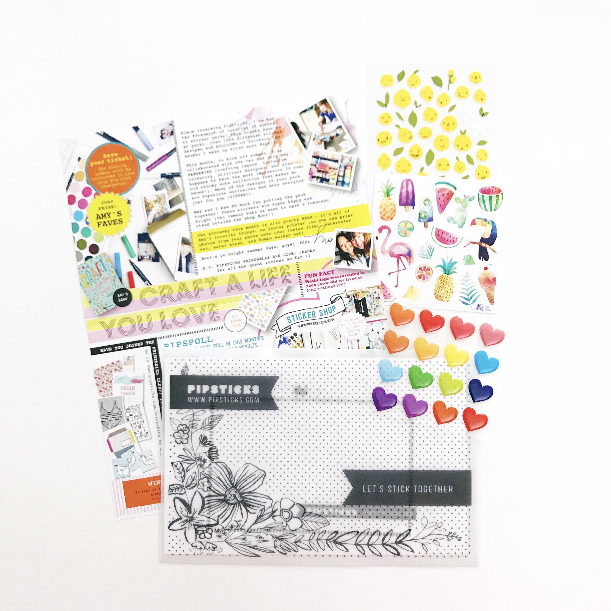 Pipsticks June kit