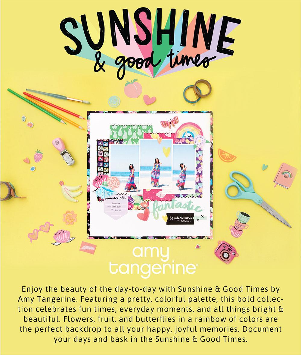 Amy Tangerine Sunshine & Good Times