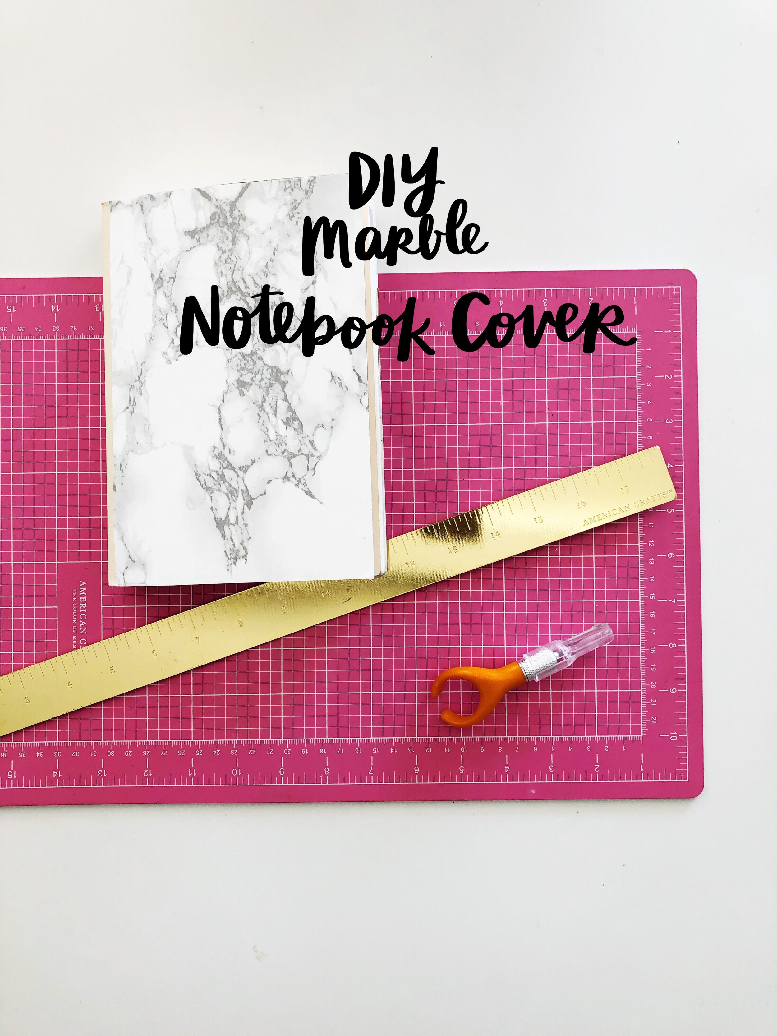 Hobonichi Marble Makeover