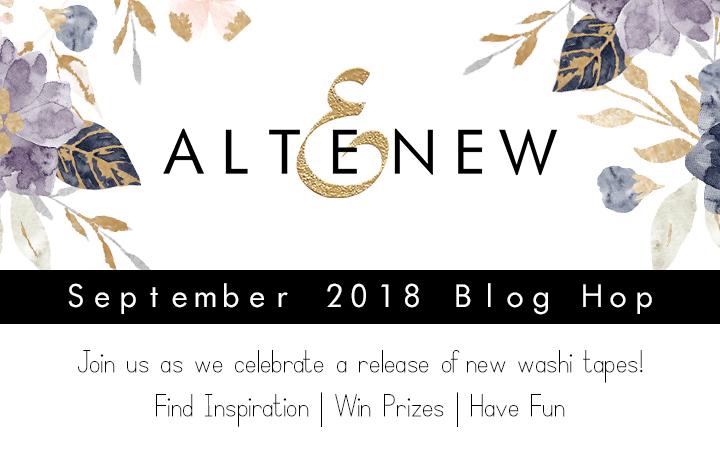 Altenew September 2018 Washi Tape Release