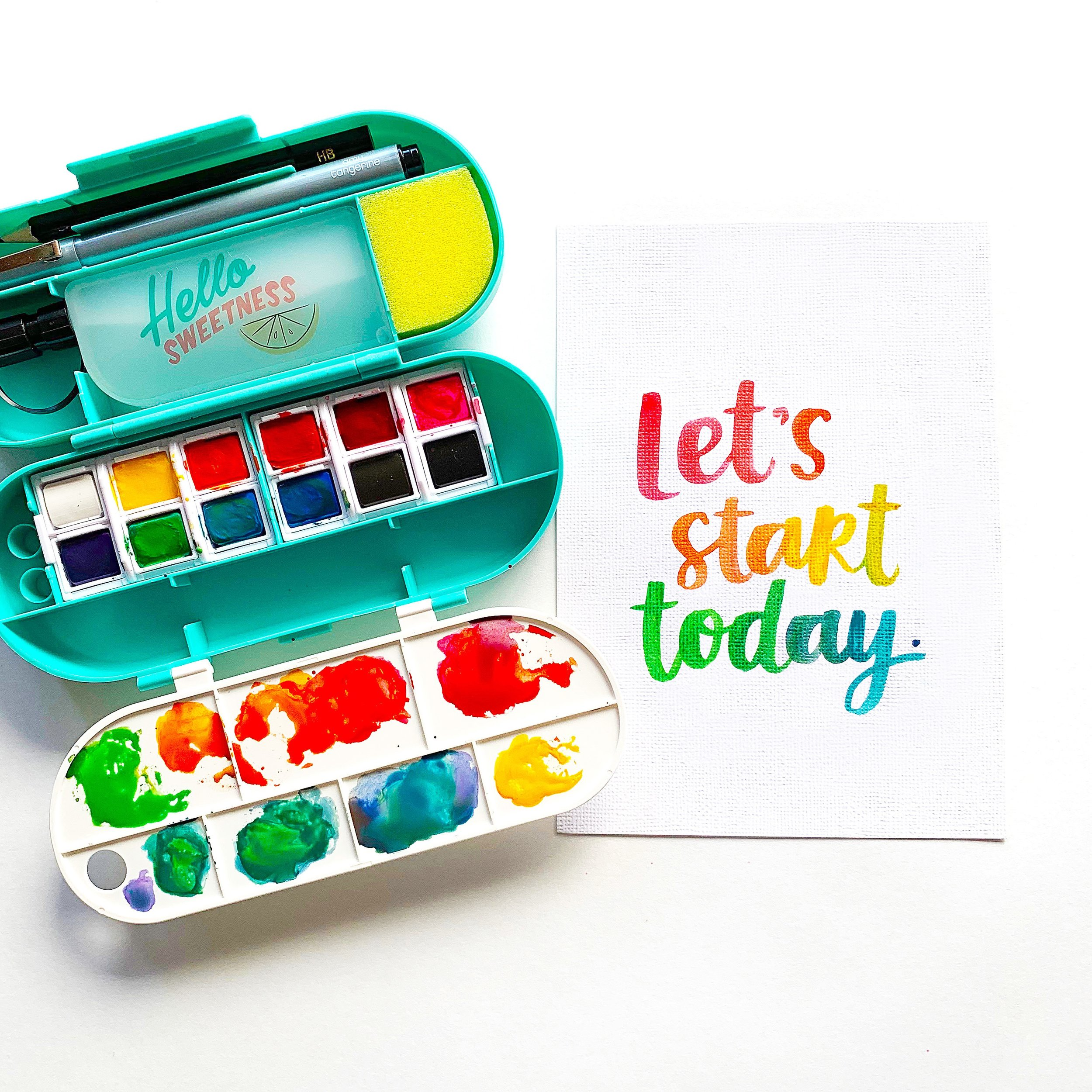 Let's Start Today | Amy Tangerine