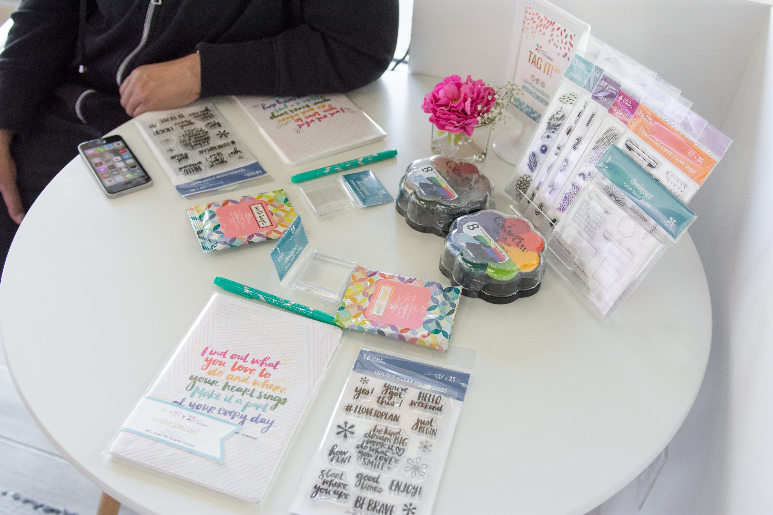 Highlights from the Erin Condren Workshop
