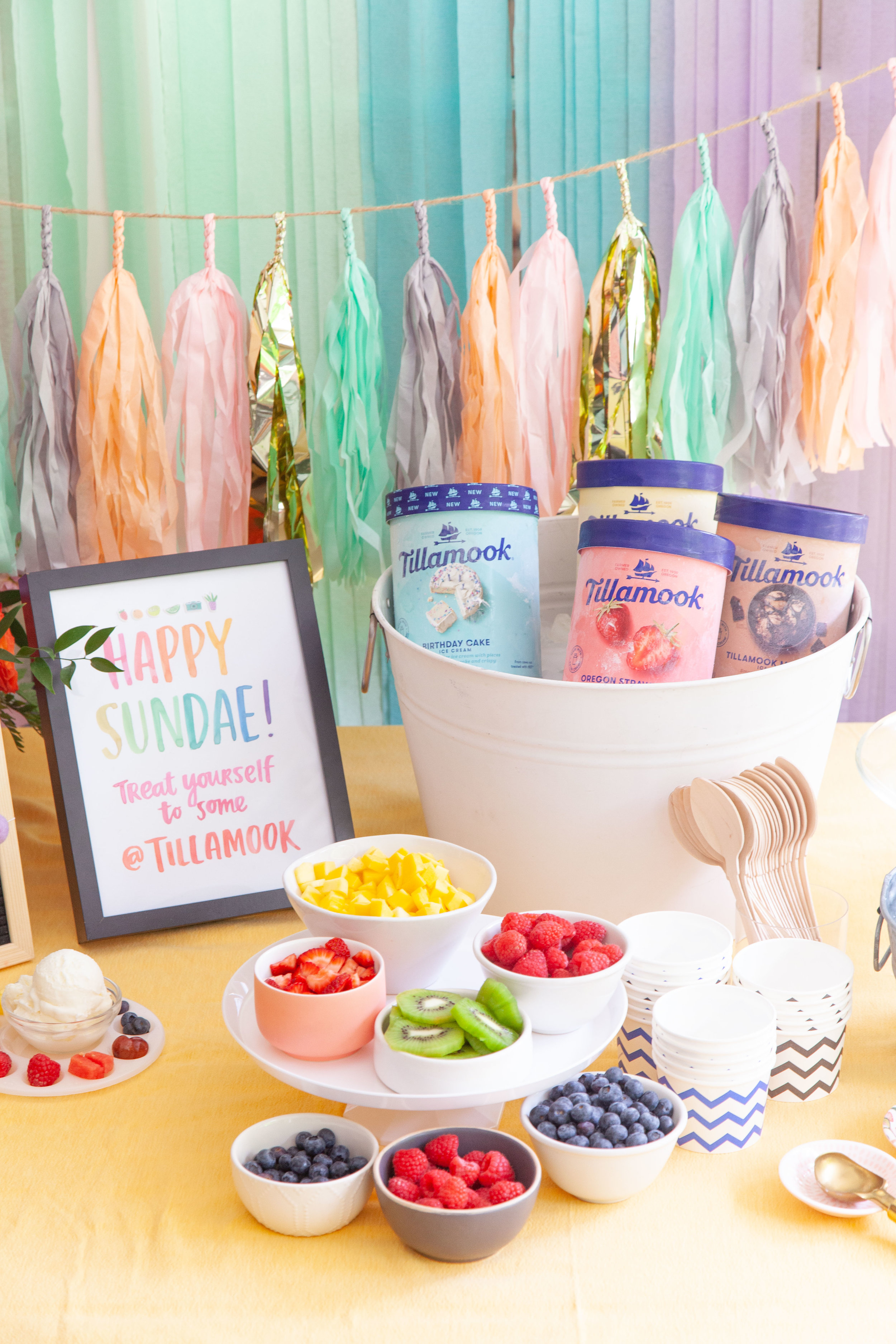Sweet Summer Ice Cream Party
