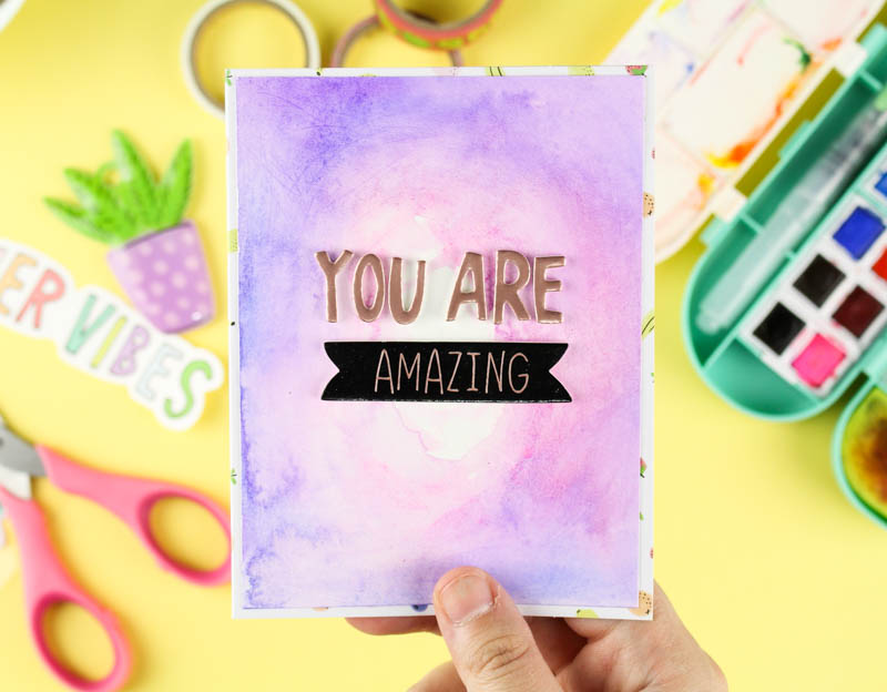 Zinia's Watercolor Cards