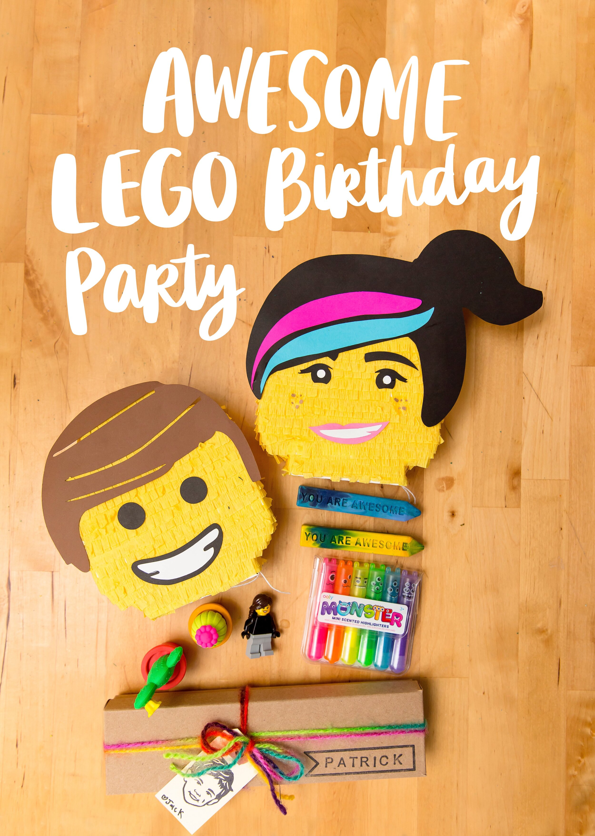 Awesome Lego Birthday Party