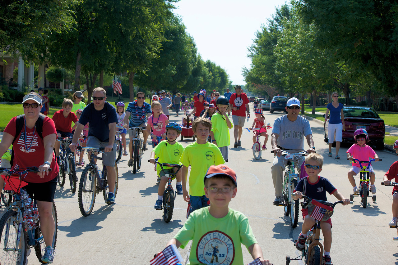 The Homestead of Carrollton celebrates Independence Day with an annual parade and party.