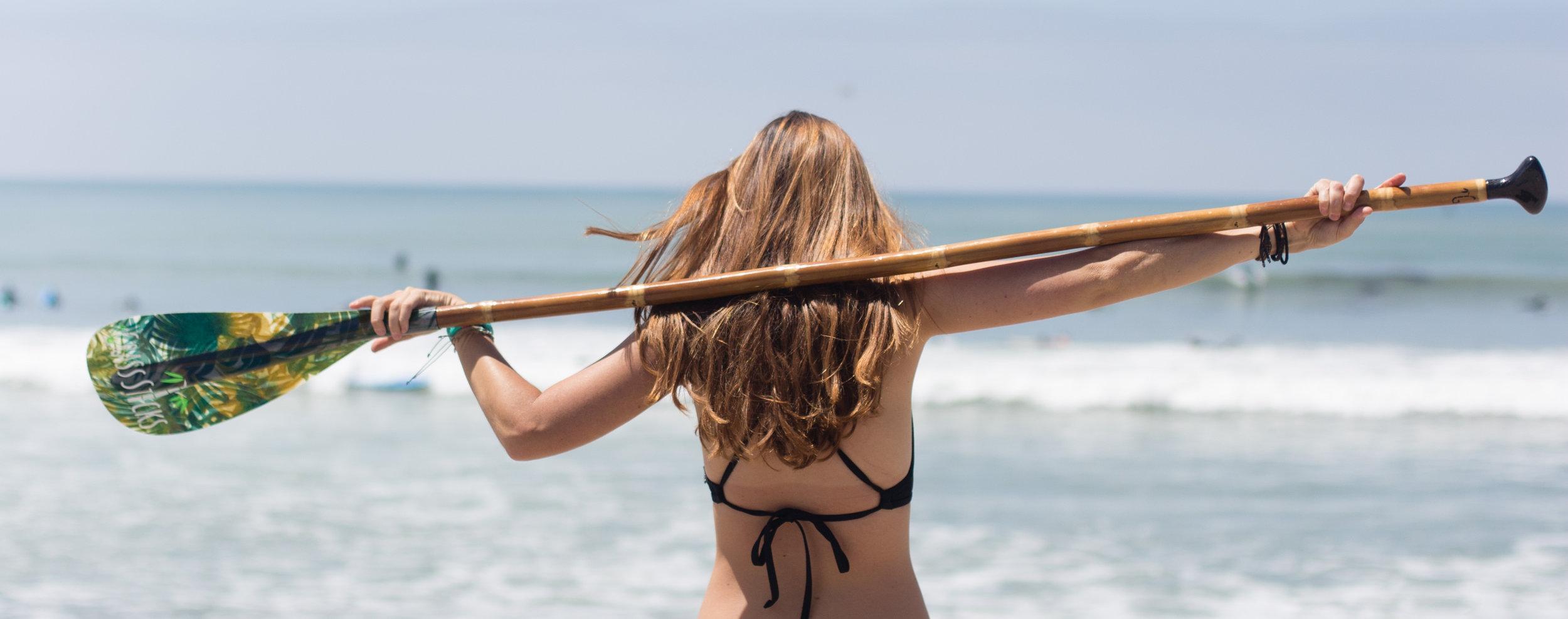 introducing sup & canoe sticks