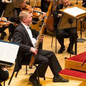 David McGill, bassoon.
