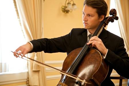 Cellist Adrian Daurov