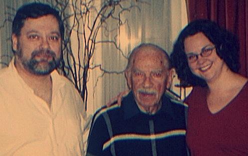 Daron, Ralph, and Gilda Lyons in September 2000.