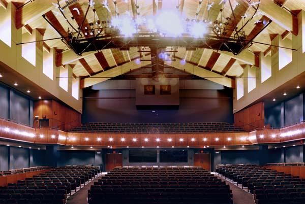 Sharon Lynne Wilson Center for the Arts.