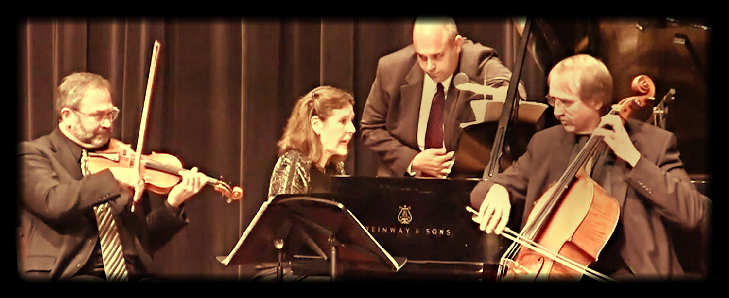 The Prometheus Piano Trio, faculty trio in residence at the Wisconsin Conservatory of Music