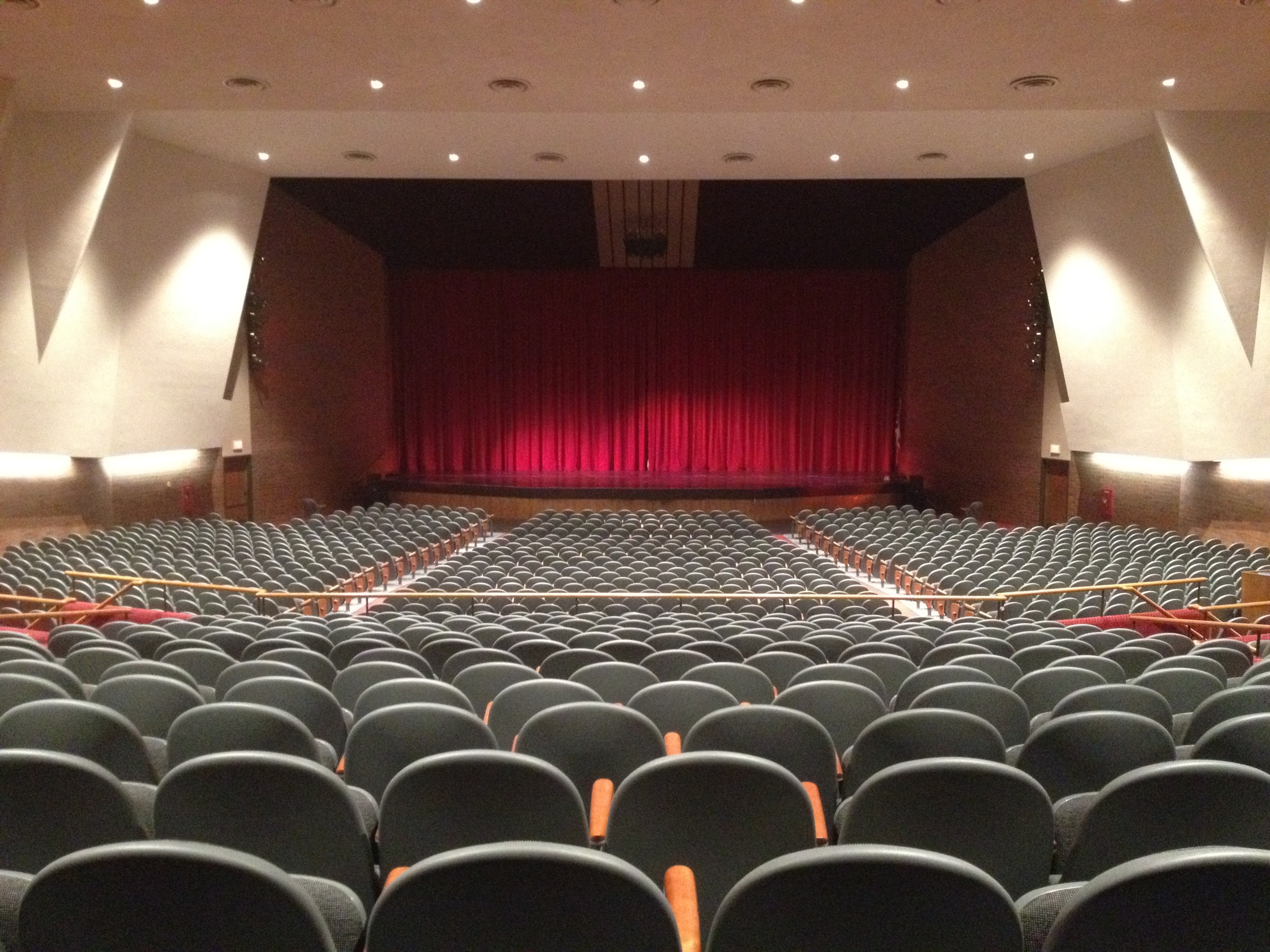 Cable Recital Hall, at the Canton Museum of Art, site of the premiere of  Light Fantastic.