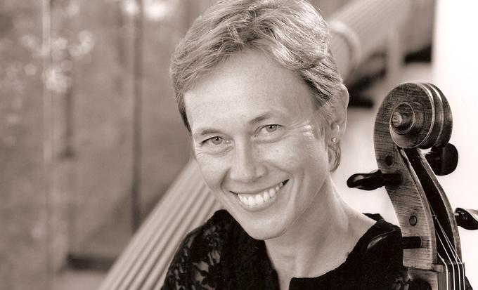 Cellist Michelle Djokic.