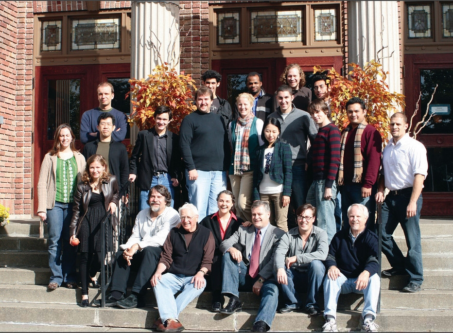 The faculty and students of the 2009 Seasons Fall Festival.