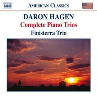 The Finisterra Trio recorded all four of Hagen's trios in the Seasons Performance Hall.