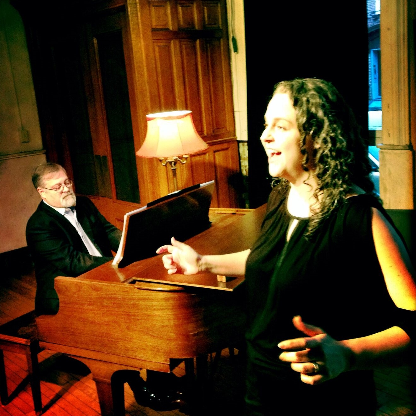 Hagen and Lyons in recital.