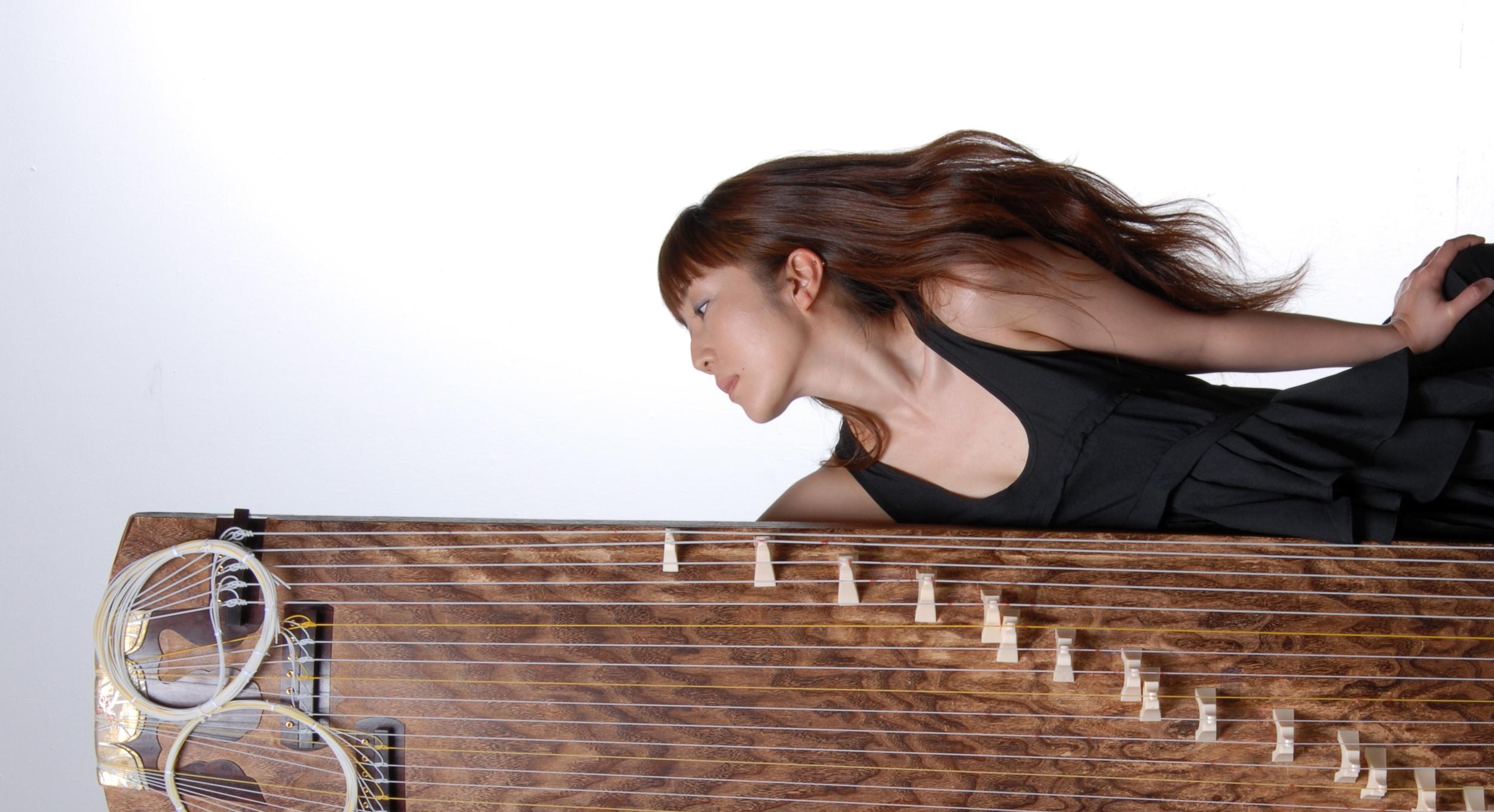 13 & 20-string Koto player / Composer / Improviser / Computer Sound Artist Yumi Kurosawa