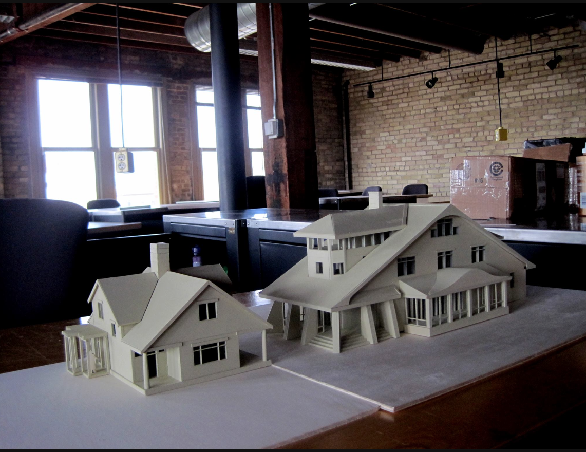 Model of a home in Agincourt.