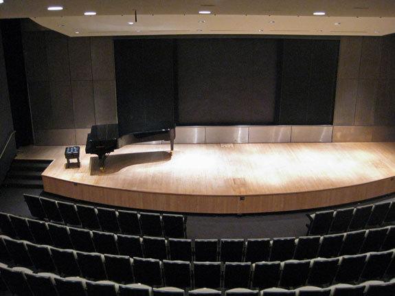The Bruno Walter Audotium at Lincoln Center.