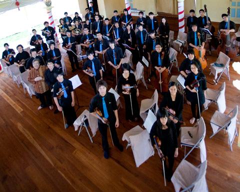 The Siam Sinfonietta.