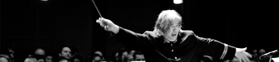 Conductor, composer, author, rennaisance man, Somtow Sucharitkul.