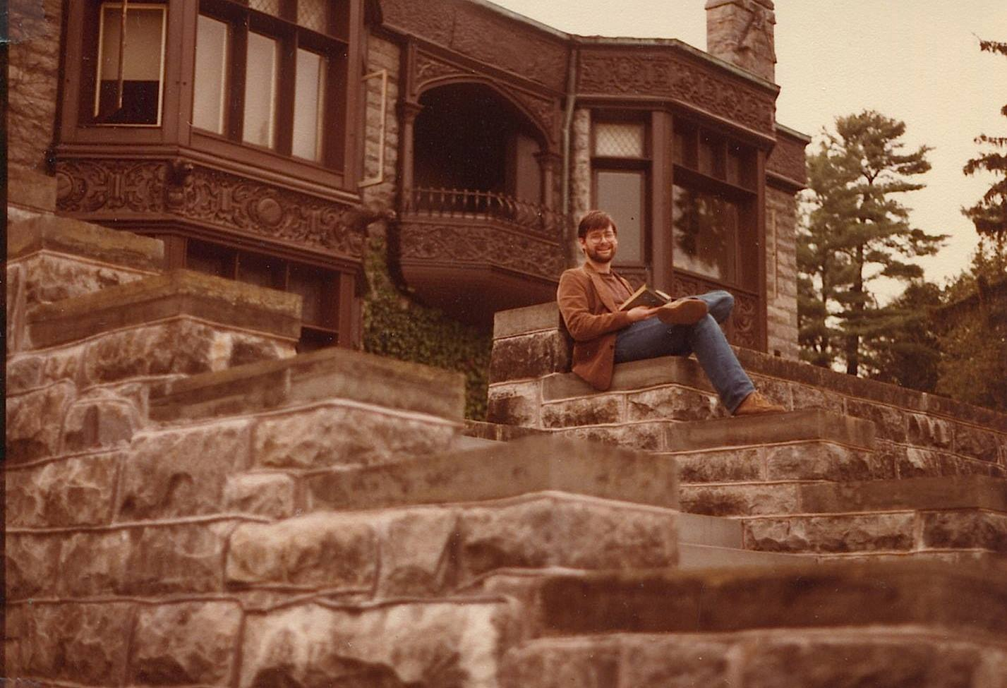 Daron Hagen at Yaddo. Summer, 1984. (Photo Credit: Hortense Calisher)