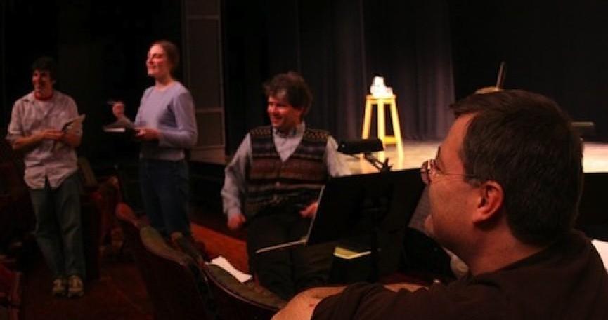 Teaching at the Princeton University Atelier.