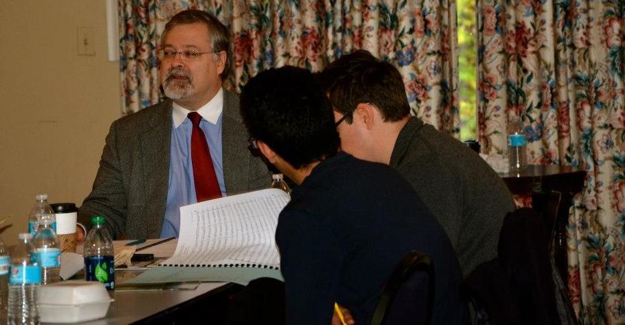Leading a seminar at the Seasons Festival in Yakima, WA.