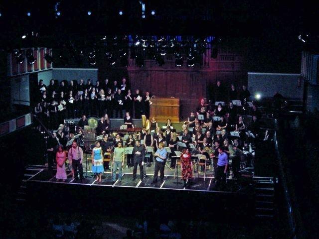 European Concert Premiere in Warrington, England