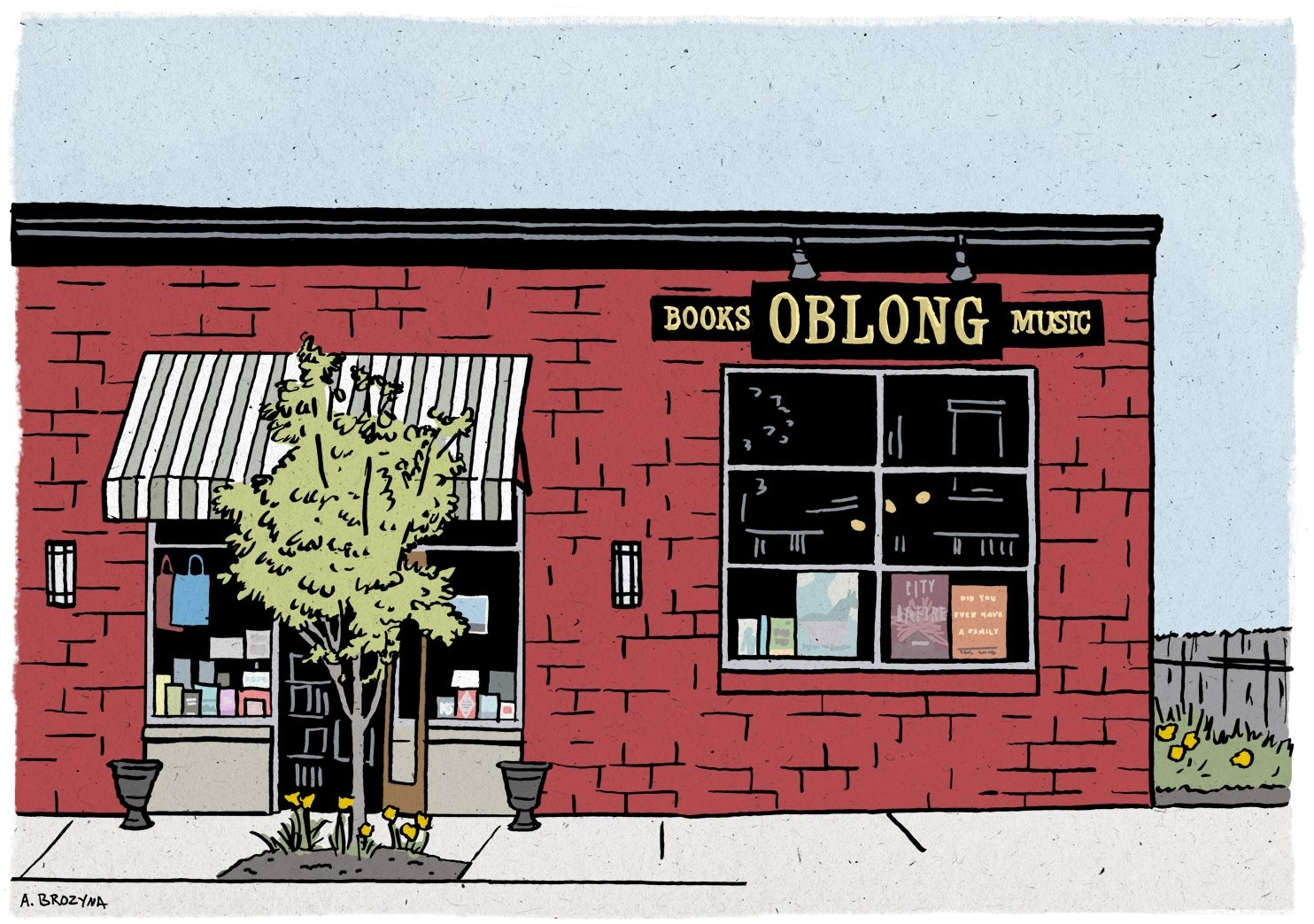 Learn more about Oblong Books and Music by clicking on the store above!