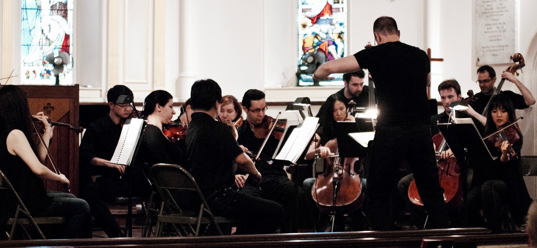 The New Brunswick Chamber Orchestra.