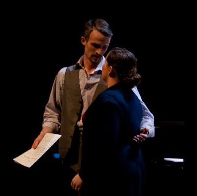 """A still from the Butler Opera Center's production of """"New York Stories."""""""