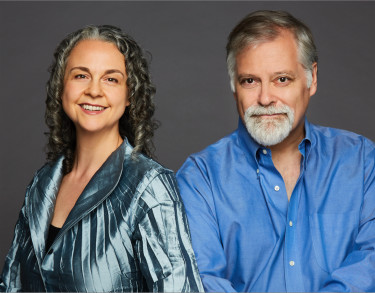 Gilda Lyons and Daron Hagen. (Photo by Karen Pearson)