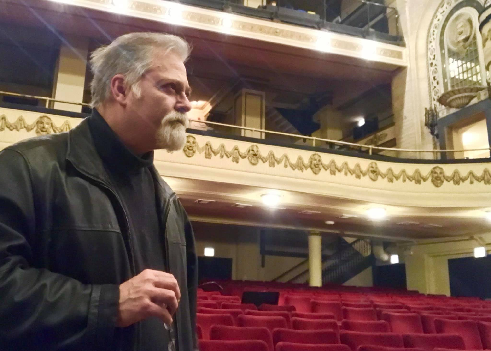 Daron giving a masterclass at the Studebaker Theater in Chicago for the Chicago College of Performing Arts.