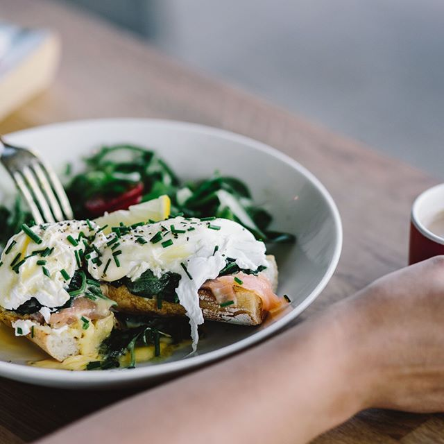 When breakfast looks this good, you know it's come from @harbordgrowers🍳